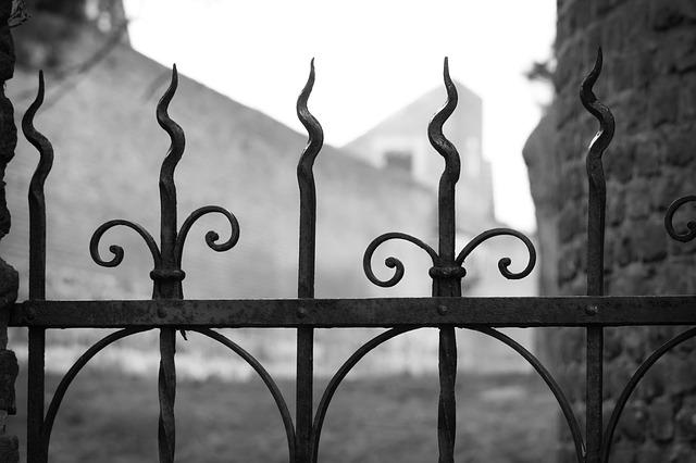 kute ogrodzenia