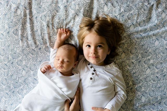 afty u małych dzieci