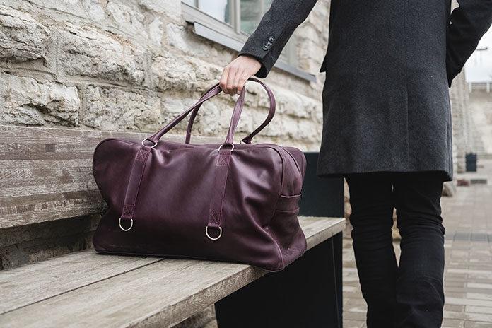 Skórzana torba podróżna – spakuj się na każdy wyjazd!