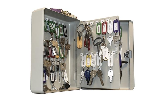Profesjonalne szafki do przechowywania kluczy - jakie wybrać